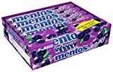 Mentos Chewy Mint Candy Roll, Japanese Grape, Halloween Candy, Bulk, Party, Non Melting, 1.32 ounce/14 Pieces (Pack of 12)