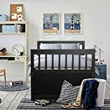 Giantex Twin Captain's Bed with Trundle Bed, Wood Storage Daybed with 3 Storage Drawers, Bunk Bed Alternative, No Box Spring Needed, Wooden Platform Bed Great for Kids Guests Sleepovers