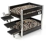 LazyBonezz Metropolitan Pet Bunk-Bed, Espresso