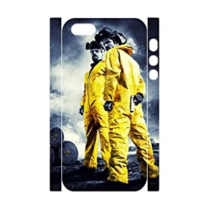 HXYHTY Cell phone Protection Cover 3D Case Breaking bad For Iphone 5,5S