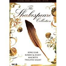 The Shakespeare Collection - 4-DVD Box Set ( Twelfth Night / Macbeth / Romeo & Juliet / King Lear ) ( Twelfth Night or What You Will / A Performance
