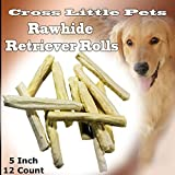 Rawhide Natural Retriever Rolls Dog Chews for