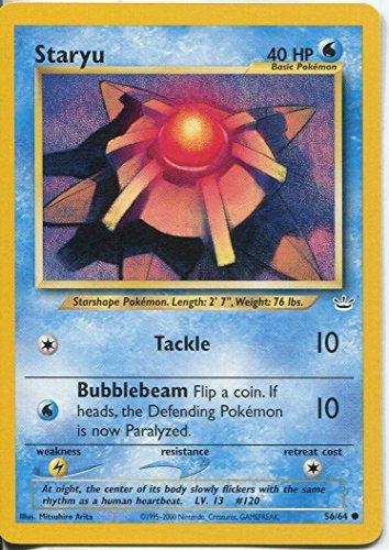 Pokemon Neo Revelation Common Card #56/64 Staryu