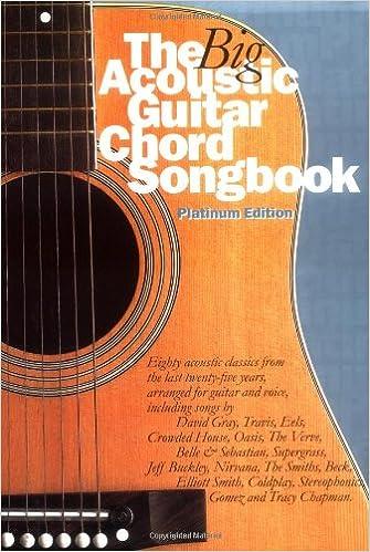 The Big Acoustic Guitar Chord Songbook (Platinum Edition): Platinum ...