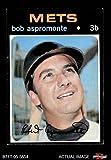 1971 Topps # 469 Bob Aspromonte New York Mets (Baseball Card) Dean's Cards 5 - EX Mets