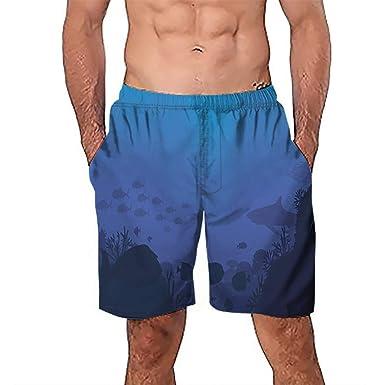 0b36f272230 Orcan Bluce Men Summer Swimming Trunks Shorts Surf Swim Wear Shorts Beach  Camouflage Quick Dry Swimsuit Swim