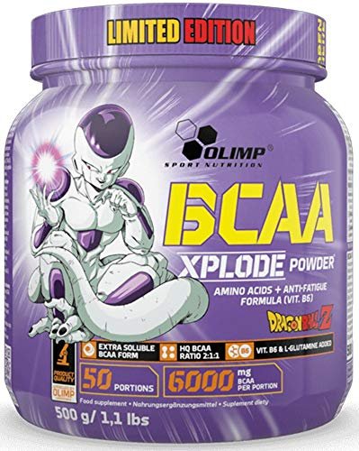 Olimp BCAA Xplode Powder Amino acids + Anti-Fatigue Formula (VIT. B6) Forest Fruit - Dragon Ball Limited Edition! !