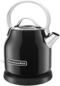 KitchenAid KEK1222OB 1.25-Liter Electric Kettle - Onyx Black (Renewed)