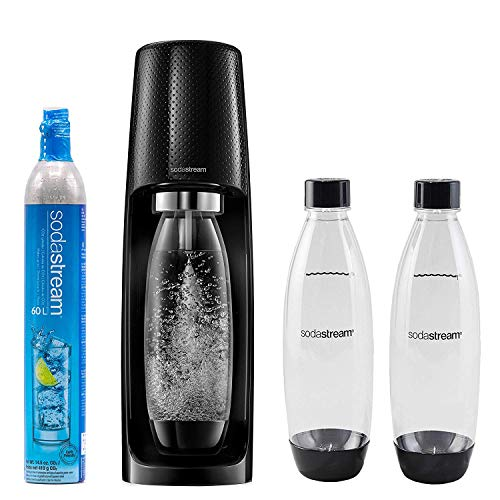 Sodastream Fizzi Mega Kit Sparkling Water Maker With 3 1l Carbonating Bottles And 60l Co2 Cylinder Cartridge Lightweight Sleek Design Makes Tap Into