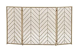 Deco 79 50366 Durable Metal Fire Screen, 52\
