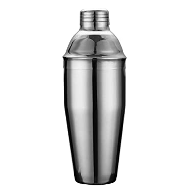 QLL 25oz Stainless Steel No Leaks Cocktail Shaker, Pro Mixing Good Solid Martini/Drink Shaker