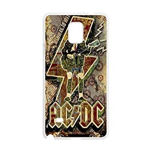 Alternating Current Direct Current ACDC Phone Case for Samsung Galaxy Note4 Case