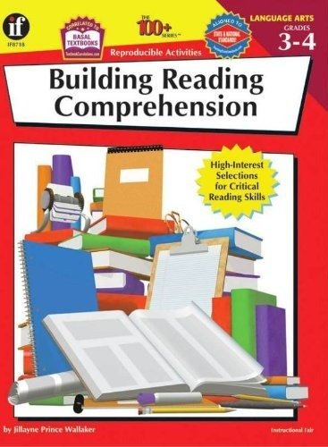 Instructional Fair Building Reading Comprehension Reproducible Activity Book, Grades 3 to 4 by Frank Schaffer Publications/Carson Dellosa Publications
