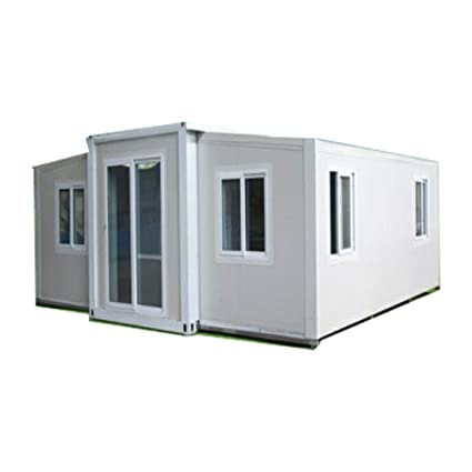 weizhengheng desmontable Contenedor casa con luz Marco de acero galvanizado caliente