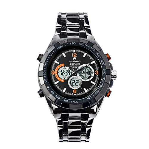 Globenfeld Super Sport Metal Watch