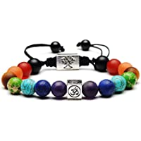 Moneekar Jewels Leather Bracelet Double Magnetic-Clasp Cowhide Braided Multi-Layer Wrap Mens Bracelet with Free Jewellery Bracelet Box