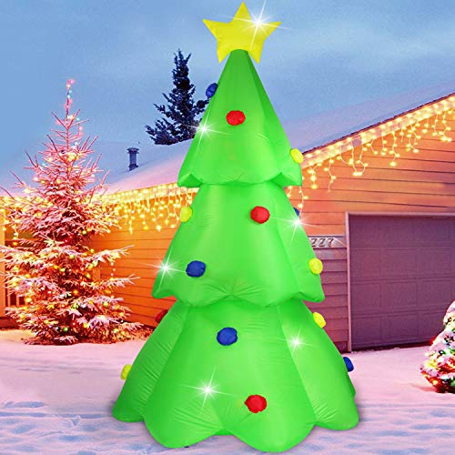Giant Outdoor Christmas Tree Lights in US - 3