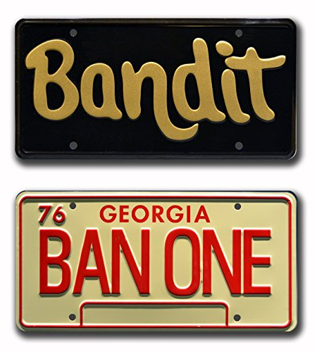 smokey-and-the-bandit-burt-reynolds-trans-am-bandit-ban-one-metal-stamped-vanity-prop-license-plate-