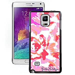 Luxury Lilly Pulitzer 31 Black Samsung Galaxy Note 4 Screen Phone Case Graceful and Elegant Design