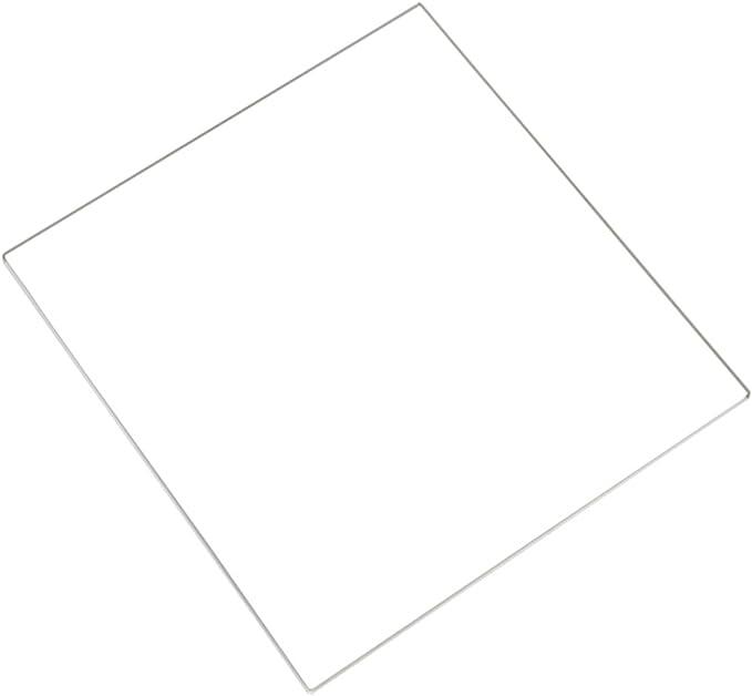SODIAL(R) Placa de Vidrio de borosilicato Cama Templado de Vidrio ...