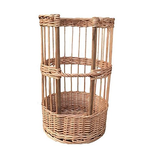 Baguette Bread Round Basket Holder by Red Hamper