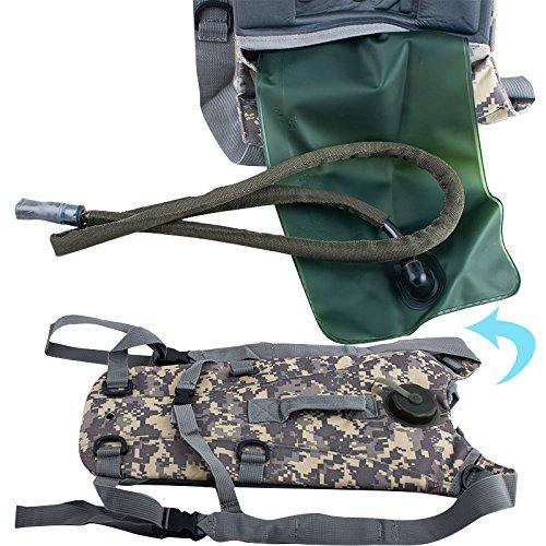 denshine 2.5L Hydration System Survival Wasser Tasche Rucksack Blase Klettern Wandern