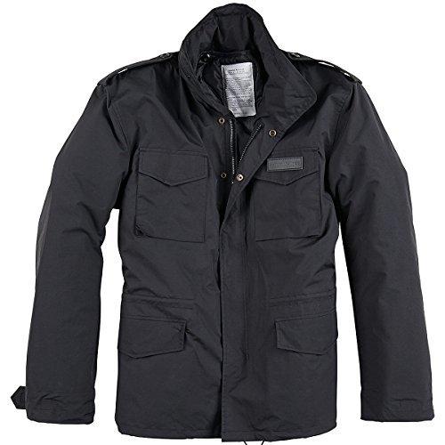 Surplus M65 Hydro US Field Jacket Black Size 3XL