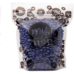 All Color M&M'S Bulk Candy Bag (Purple, 2 LB)