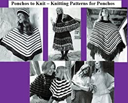 Poncho zu stricken-Knitting Patterns für Ponchos (German Edition) by [Unknown]