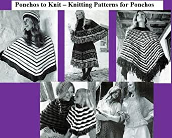 Amazon.com: Poncho zu stricken-Knitting Patterns fur ...