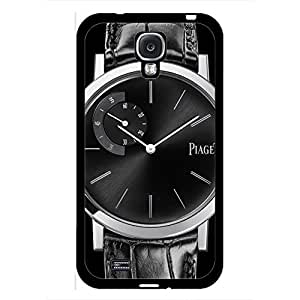 Diamond Stylish Piaget Watch Phone Case Cover MK87 for Samsung Galaxy S4 Black Hard Case_Bling Series