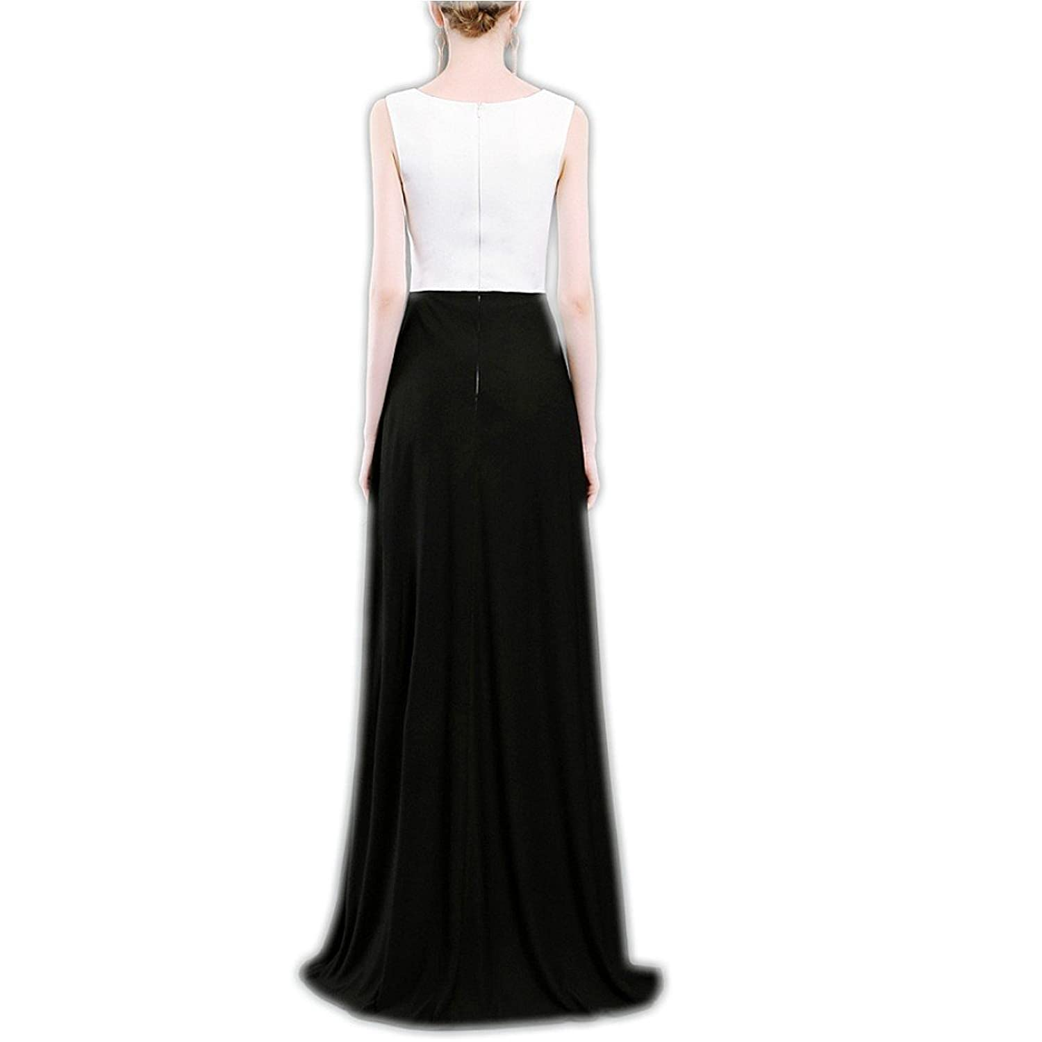 Women Girl party Evening Dresses Meibida white Black 2017 Formal Evening Gown Bride Banquet Prom Dress: Amazon.co.uk: Clothing
