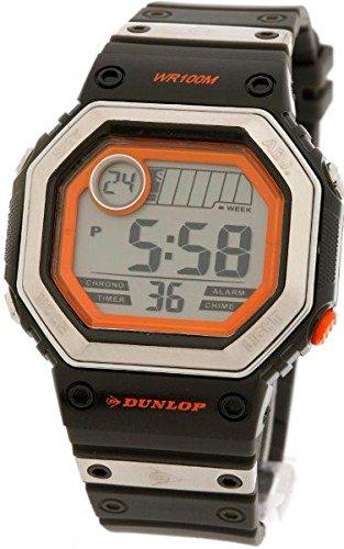 Dunlop Reloj Digital para Mujer de Automático con Correa en Resina DUN-77-G02: Amazon.es: Relojes