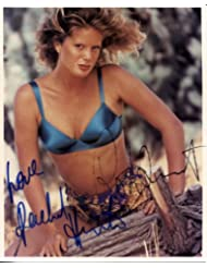 * ROD STEWART / RACHAEL HUNTER * rare signed 8x10 photo / UACC Registered Dealer # 212