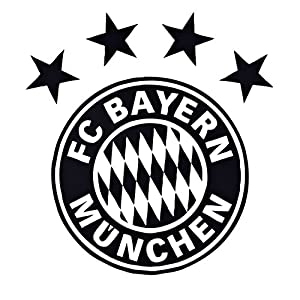 Wall Tattoo Logo Black With Fc Bayern Munich With Munich