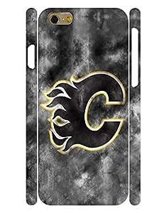 Artistic Theme Smart Phone Case Unique Logo Ice Hockey Team Designed Hard Plastic Case For Iphone 6 Plus (5.5 Inch) Cover (XBQ-0339T)