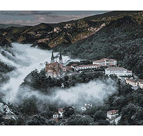 YKCKSD Puzzle 1000 Piezas Catedral De Covadonga España World ...