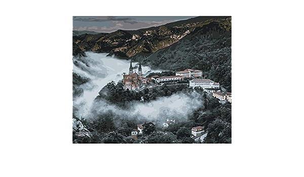 YKCKSD Puzzle 1000 Piezas Catedral De Covadonga España World Landscape Kit.: Amazon.es: Hogar