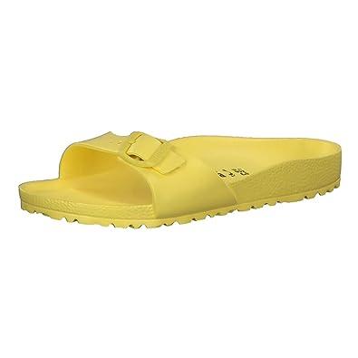 BIRKENSTOCK Madrid Damen Sandale Beige Schuhe, Größe:38