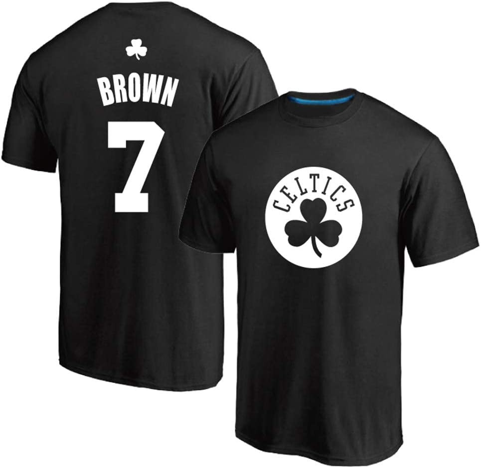 Camiseta de Baloncesto para Hombre, Boston Celtics 7# Brown Camisa ...