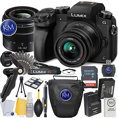 Panasonic Lumix DMC-G7 Mirrorless Camera with 14-42mm Lens + Essential Photo Bundle (Black) Review