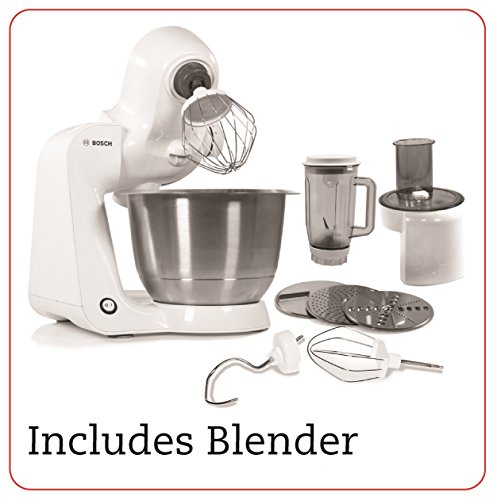 bosch-styline-stand-mixer-with-continuous-shredder-and-bosch-blender-bundle-of-2-items