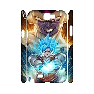YNACASE(TM) Dragon Ball DIY 3D Cover Hard Back Cover Case for Samsung Galaxy Note 2 N7100,Personalized 3D Phone Case with Dragon Ball