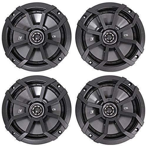 Kicker CS Series 6.75 Inch Coaxial EVC 2 Way 600 Watt Speakers 43CSC674 (2 - Inch 6.75 Coaxial