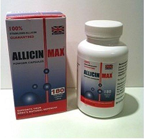 Allicin Max 180 Veg Powder Caps
