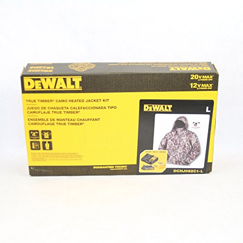 DEWALT DCHJ062C1-L 20V/12V MAX Camo Heated Jacket Kit, Large by DEWALT (Image #3)