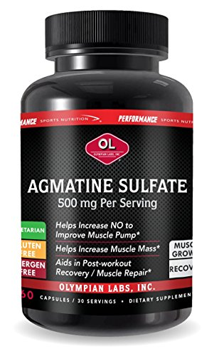 Olympian Labs Agmatine Sulfate Supplement, 60 Count Review