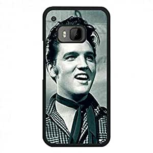 Black Famous Star Elvis Presley Hard Phone funda Back Cover For Htc One M9