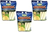 (3 Pack) Cadet Retriever Rolls Rawhide, 10 To 11 Inches, 20 Rolls each