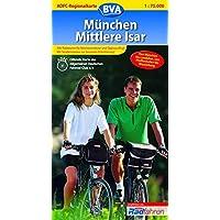 ADFC Regionalkarten, München, Mittlere Isar (ADFC-Regionalkarte 1:75000)